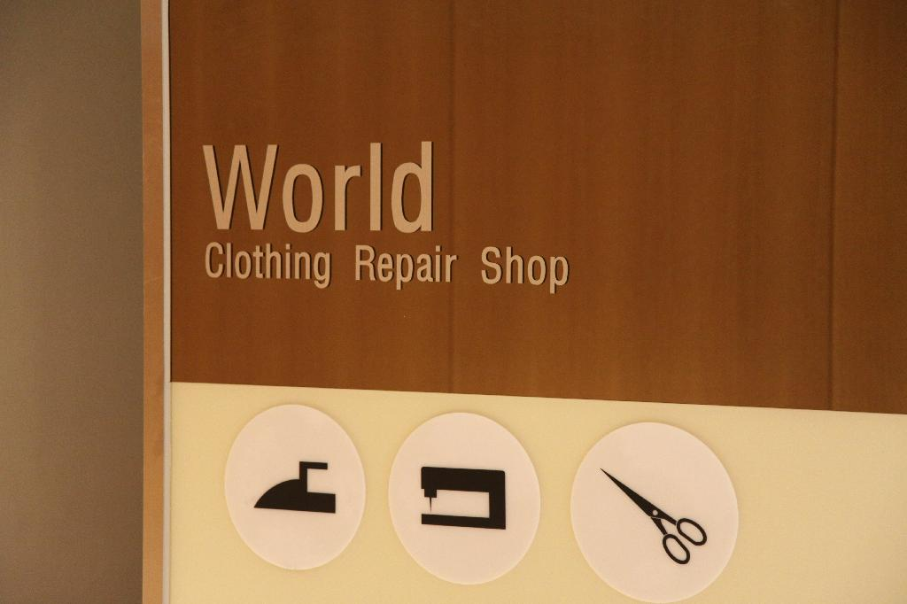 Clothing Repair Shop